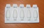 Лечение свечами при эрозии шейки матки