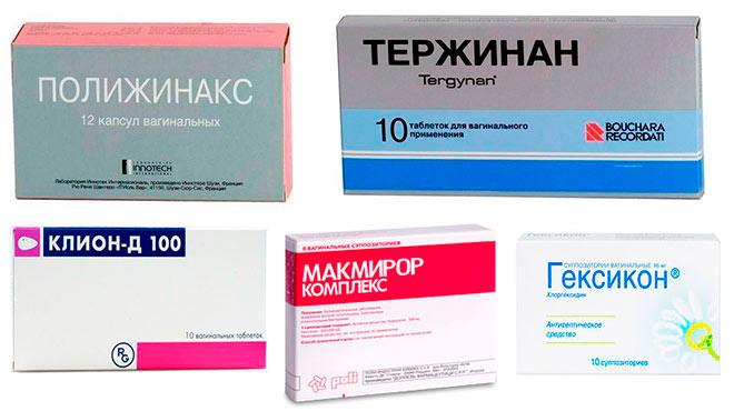 В зависимости от состава могут обладать антибактериальным, противовоспалительным, пробиотическим или рассасывающим спайки действием