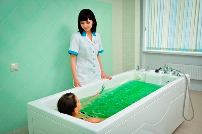 Радоновые ванные